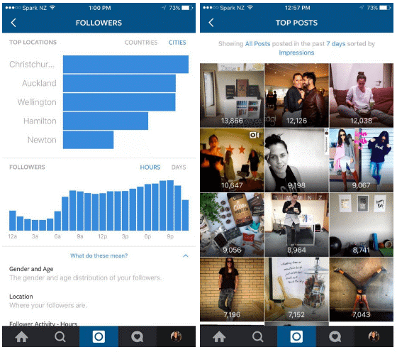 instagram, instagram business profile, instagram insights