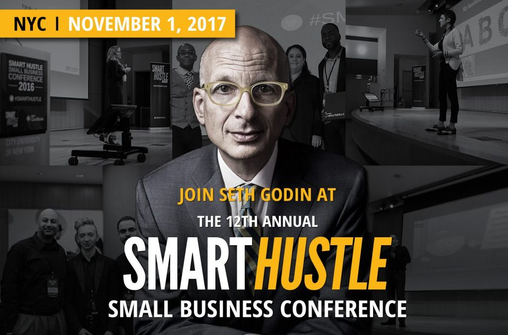 6 Lessons I learned from Seth Godin at SmartHustle Conference