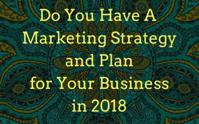 2018 strategy and plan?…nah…no time…