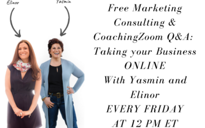 Free Marketing Consulting & Coaching Zoom Q&A Calls EVERY Friday